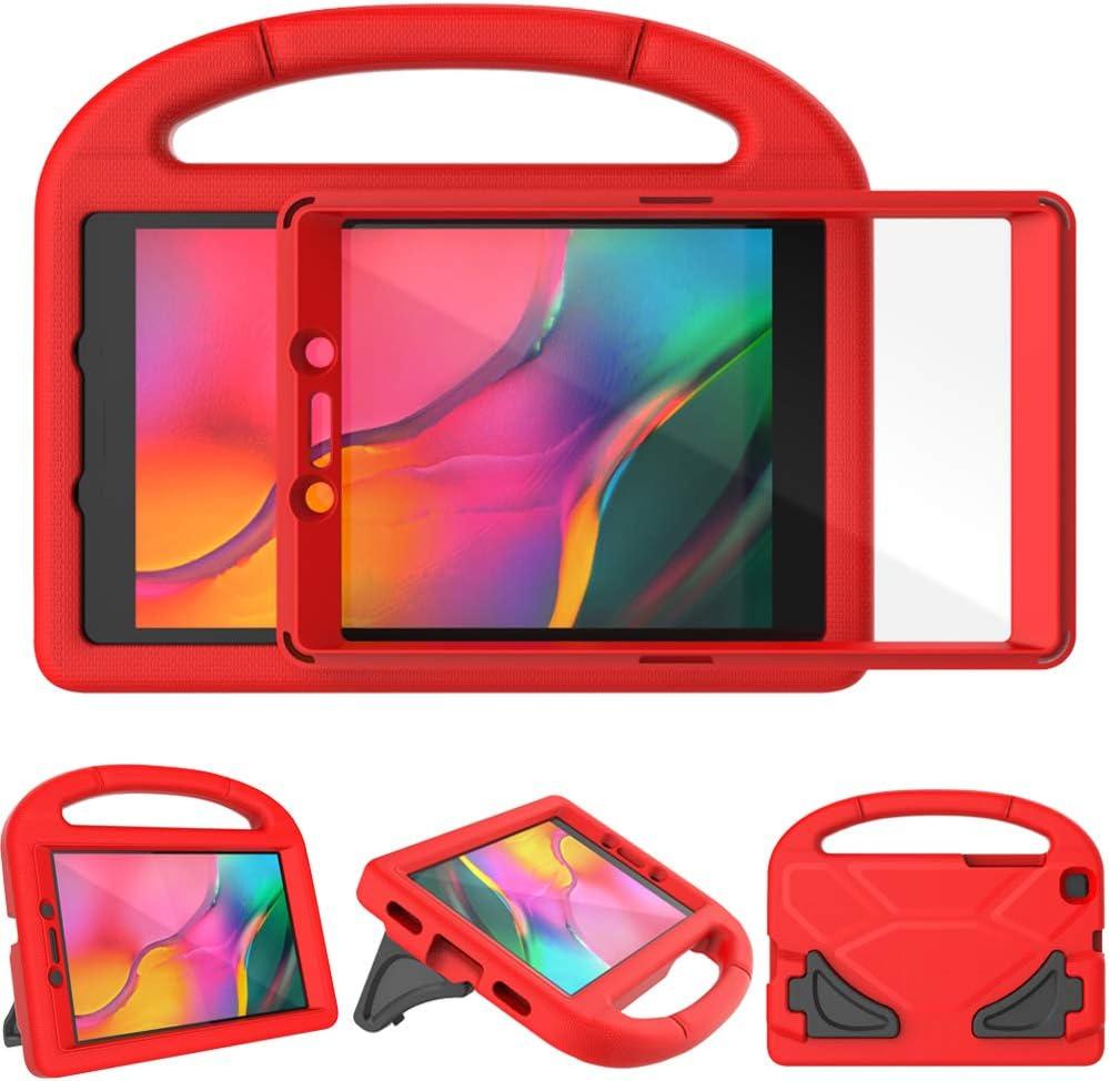 Funda para niños para Samsung Galaxy Tab A 8.0 2019 Roja
