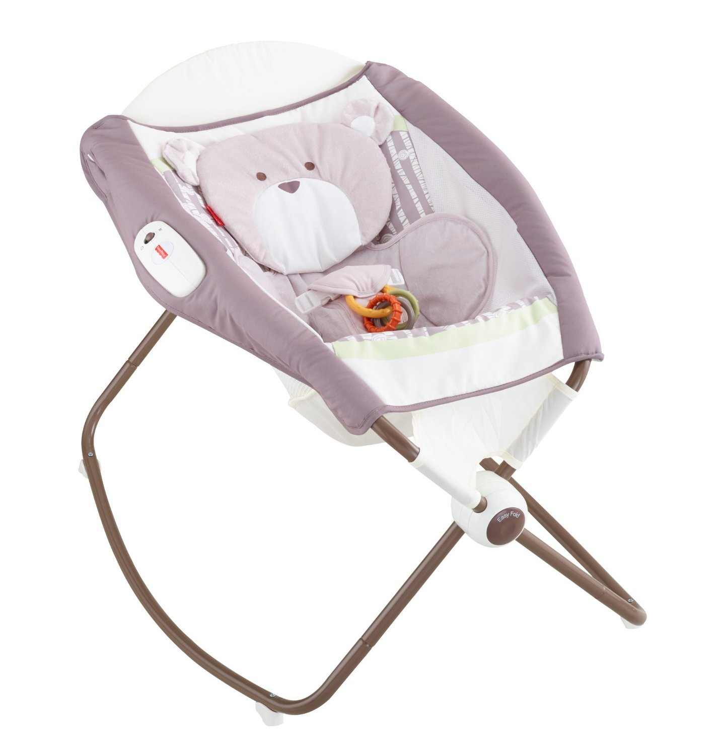 Fisher-Price Deluxe Newborn Rock 'n Play Sleeper, Snugabear Forest