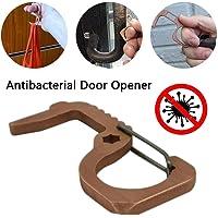 Abridor de puerta EDC, herramienta de llavero sin