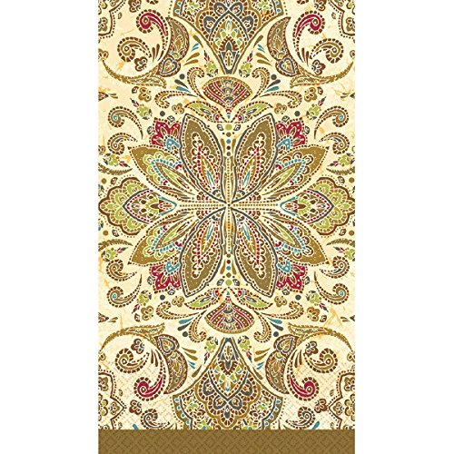 Textured Paisley Guest Paper Towels | 16 Ct. | 8