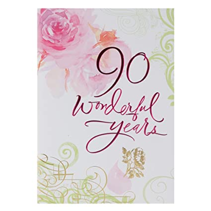 Image Unavailable Not Available For Color 90th Birthday Greetings Cards