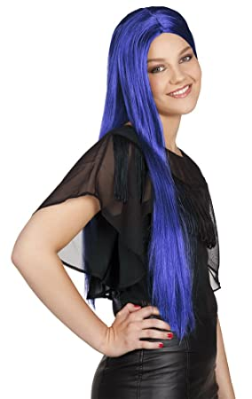 Long Blue wig (peluca)