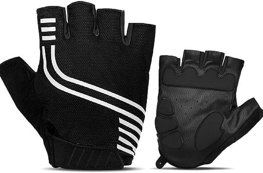 New Mountainbike BMX Downhill Glove Full Finger Glove  For Men White