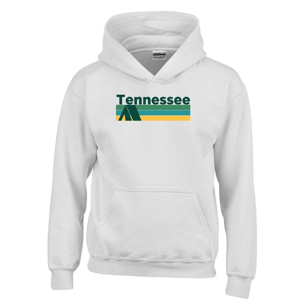 Retro Camping Youth Hoodie Tennessee Kids Sweatshirt