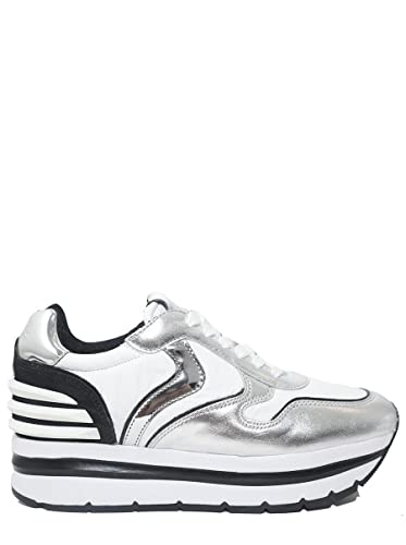 Blanche May E In Sneakers Pelle Voile Power Tessuto SUMpqzVG