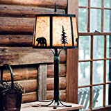 Sunset Bear Metal Table Lamp