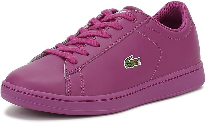 Lacoste Junior Purple Carnaby EVO 317 5