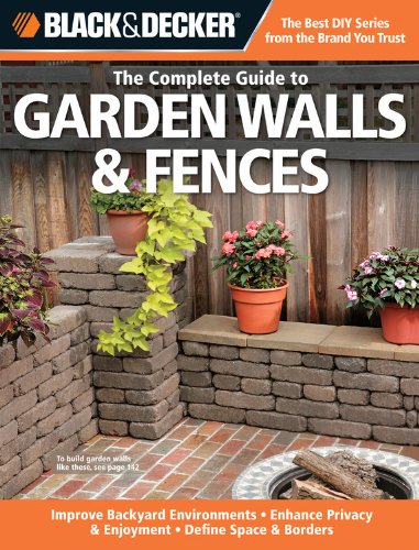 Cheap  Black & Decker The Complete Guide to Garden Walls & Fences: Improve..