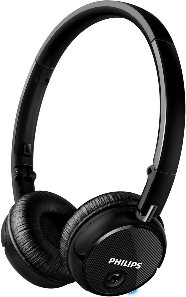 Philips SHB6250/27 Wireless Bluetooth Headphones, Black