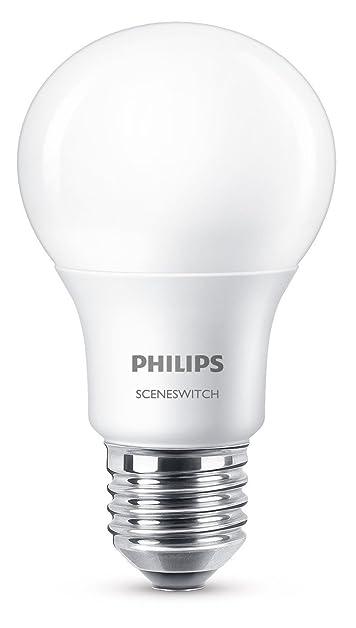 Philips 3-in-1 LED Lampe SceneSwitch ersetzt 60W, EEK A+, E27 ...