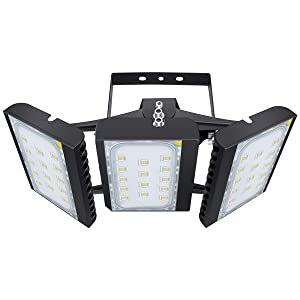 LED Flood Light, STASUN 300W 27000lm LED Security Lights Outdoor with 330°Wide Lighting Area, 6000K Daylight, OSRAM LED Chips, Adjustable Heads, Waterproof, Great for Yard Street Parking Lot