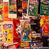 Lot of 25 NFL FOOTBALL PACKS of Cards. BONUS AUTOGRAPHED SIGNED FOOTBALL CARD GUARANTEED with every order!!!!!