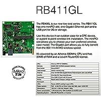 Mikrotik RB/411GL RouterBOARD 1 Gbit LAN 1 miniPCI RouterOS L4