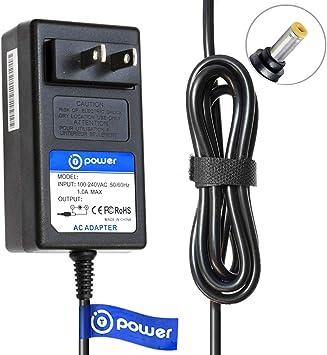 T Power - Cargador adaptador para teclado Casio AD-12MLA U AD-12MLA U AD-12MLA U AD-12MLA(U) AD12M3 (12 V, CC): Amazon.es: Electrónica