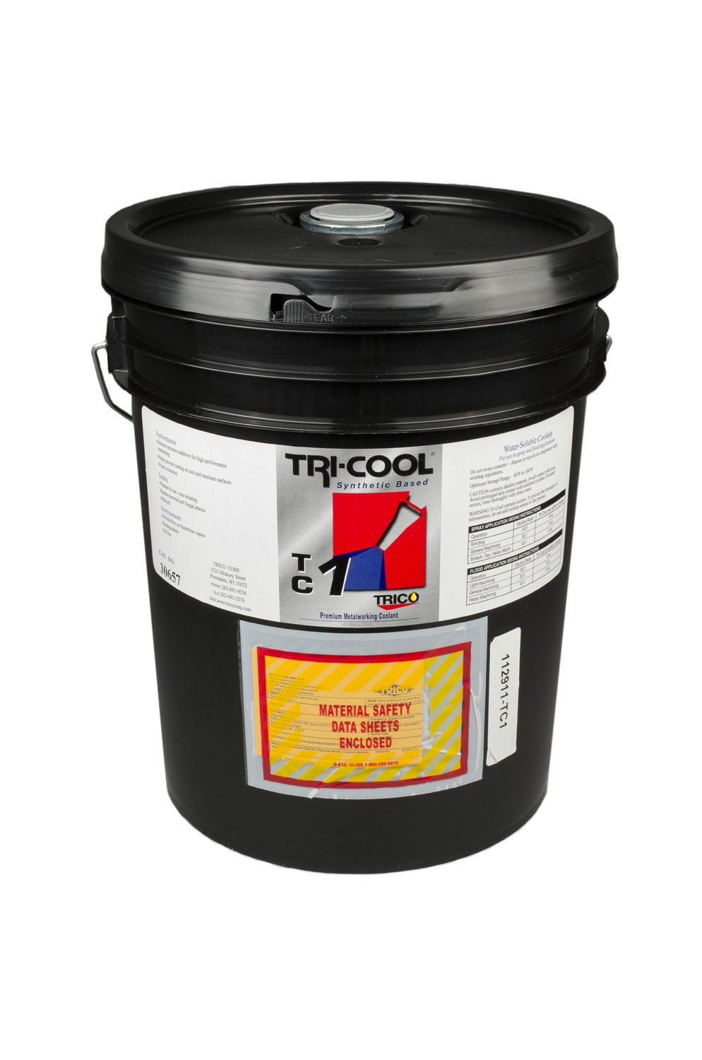 Trico TC-1 Premium Synthetic Water-Soluble Coolant, 5 Gallon Pail by Trico