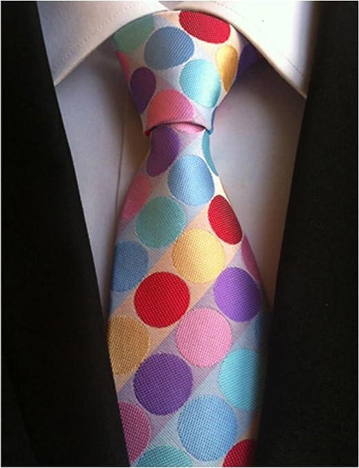 Mon5f Home Pañuelo de Corbata de Seda con Corbata de Seda de ...