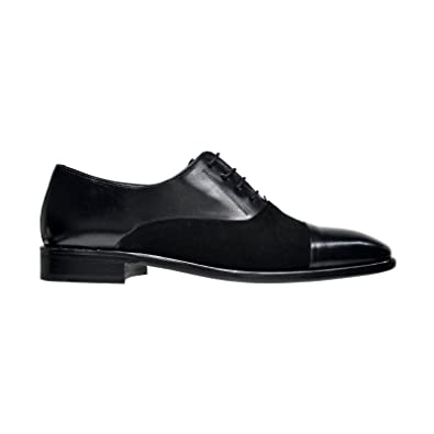 Mens Concerto Black 10 Medium (3802-2)