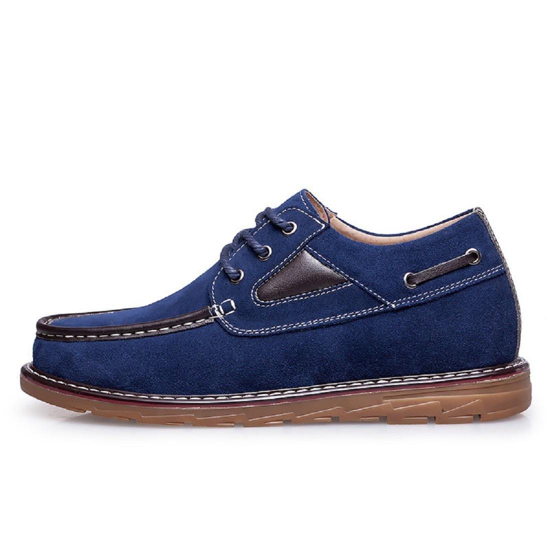 Herren Das neue Lässige Schuhe Freizeit Lederschuhe Werkzeug Schuhe Geschäft Rutschfest Licht Rutschfest Schuhe erhöhen EUR GRÖSSE 38-46