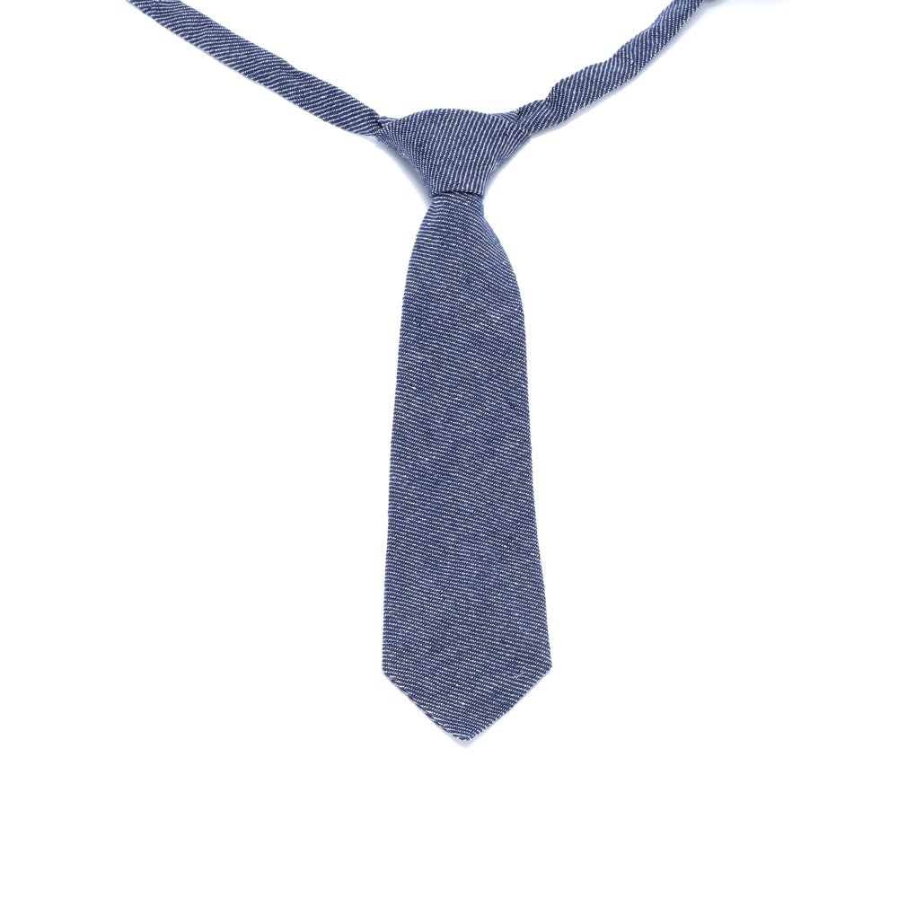 Denim Peppercorn Kids Boys Necktie