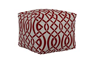 brentwood originals pouf empire red