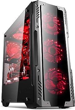 GOLDEN FIELD Z2 ATX/ATX Micro/ITX Mid-Torre Ordenador de la ...