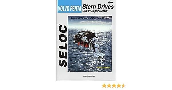 volvo penta stern drive shop manual 1968 1991