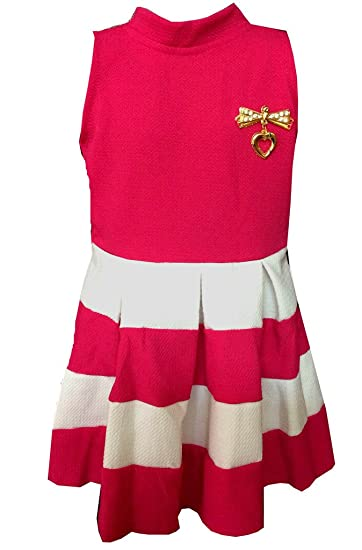 63518fd2b5aa ALL ABOUT PINKS® Striped Formal Dresses for Girls Birthday Dress ...
