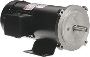 DAYTON 2M169 DC Motor, PM, TEFC, 3/4 HP, 1750 rpm, 90VDC