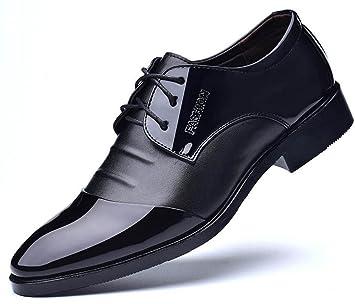 XWZG Zapatos De Traje De Hombre Zapatos De Negocios CláSicos ...