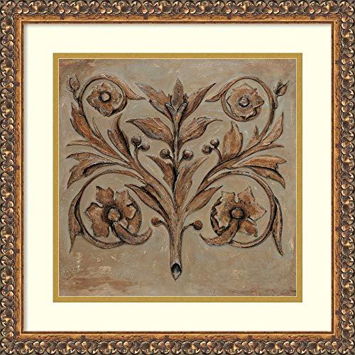 Framed Wall Art Print | Home Wall Decor Art Prints | Decorative Scroll I by Pablo Segovia | Traditional Decor