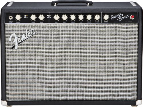 Fender Super-Sonic 22 22-Watt 1X12-Inch Guitar Combo Amp - Black