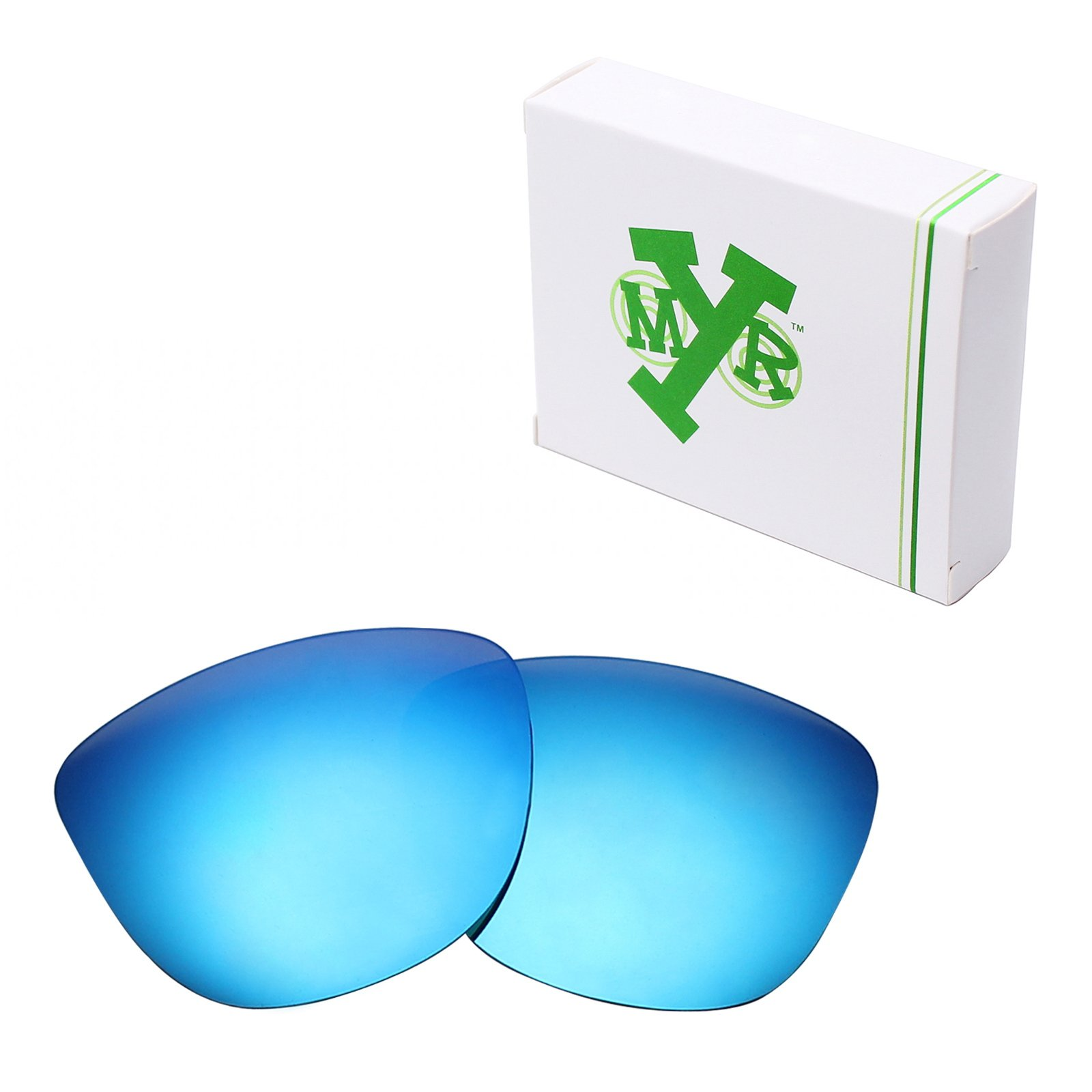 Mryok UV400 Replacement Lenses for Oakley Frogskins - Ice Blue by Mryok