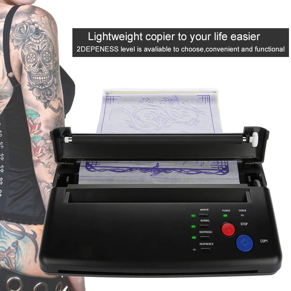 Amazon.com: Plantilla térmica para transferencia de tatuajes ...