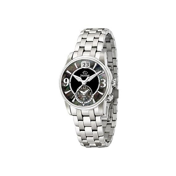 Jaguar 623/4 - Reloj de mujer de cuarzo, correa de acero inoxidable color