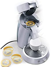 UPP Vainas de café Filtro de café reutilizable rellenable para máquina de café máquina de almohadilla