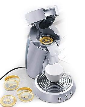 UPP Vainas de café Filtro de café reutilizable rellenable para máquina de café máquina de almohadilla de plástico de 4 piezas: Amazon.es: Hogar
