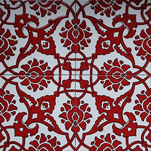 Turkish Iznik Carnation & Floral Pattern 8