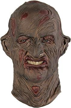 Horror-Shop Máscara quemada de Freddy Krüger: Amazon.es: Juguetes y juegos