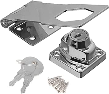 Vintage Door Lock Drawer Locker Door Lock Clasp Buckle Cabinet Lock Q