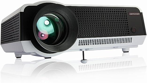DBPOWER LED-86 1280 x 768 proyector digital de alta definición con ...