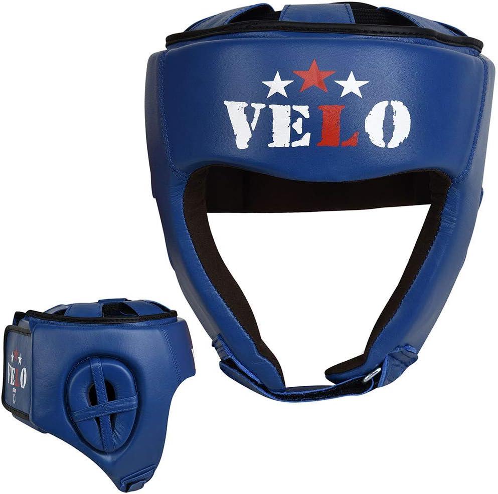 da Gara Professionale caschetto da Boxe in Pelle Bovina omologato AIBA Velo