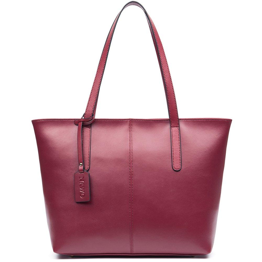 Amazon.com  NAWO Women Leather Handbags Designer Shoulder Tote Top-handle  Purses  Shoes 2a7eb181b653c