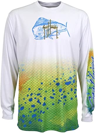 Guy Harvey Dorado Pro UVX Long Sleeve Performance Shirt