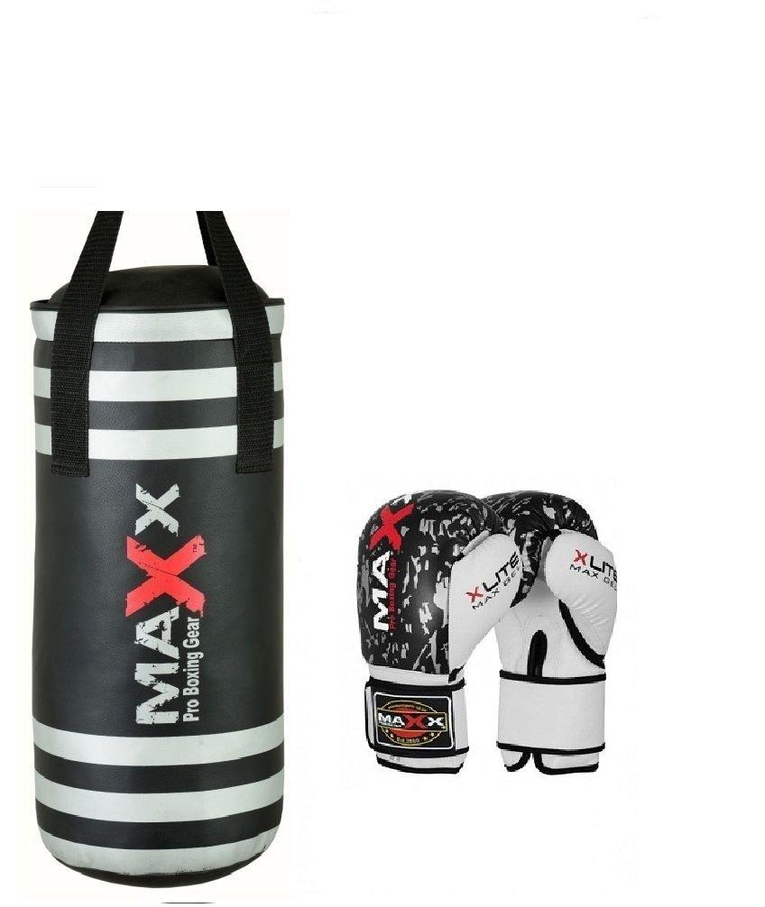 hook or bracket Maxx Junior kids boxing Kids punch bag set with gloves FREE HANDWRAPS mma training
