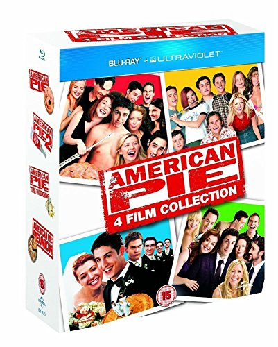 AMERICAN PIE 4-Disc Blu ray SeT UNRATED 1 2 3 & Reunion Complete Movie Set