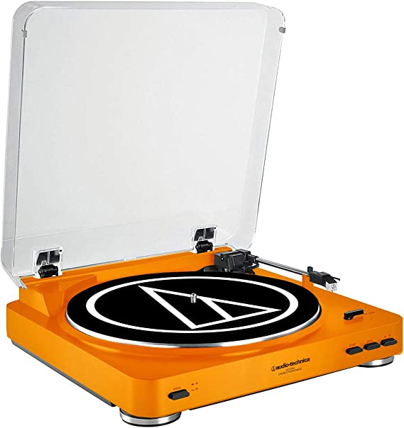 Audio-Technica AT-LP60 Fully Automatic Belt-Drive Stereo Turntable