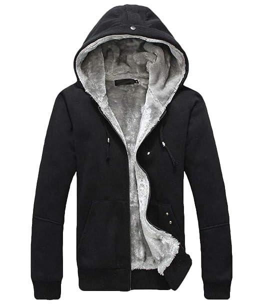 KLJR Men Plus Size Plus Size Casual Patchwork Button Front Pocket Hoodies Sweatshirts