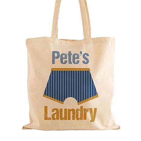 Personalizado para hombre Bolsa para ropa sucia con nombre ...