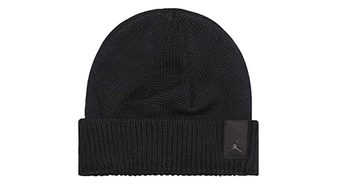 c5ba830a9b7 Image Unavailable. Image not available for. Colour  Nike Mens Jordan Watch  Beanie 861456-010 - Black