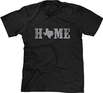 6ef774544d6 Amazon.com  Blittzen Mens T-Shirt Home Texas State O  Clothing